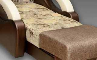 Кресла-кровати «аккордеон»: модели с ящиком для белья на металлокаркасе, особенности механизма