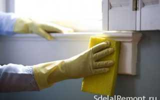 Чем отмыть грунтовку: как удалить со стен и плитки на полу