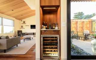 Барные шкафы: навесной бар для напитков в гостиной дома, барная стойка с виски