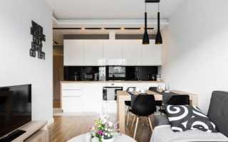 Дизайн кухни-гостиной (92 фото): интерьер, современные идеи