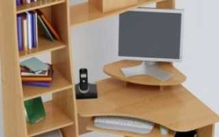 Угловые компьютерные столы с надстройкой (23 фото): полуугловые письменные модели с ящиками и шкафчиками