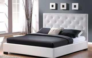 Кровати из экокожи (30 фото): современные модели, отзывы