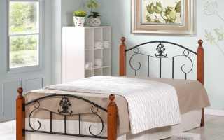 Металлические односпальные кровати: железная кровать, белое изделие с матрасом, 90х200 и 80х200