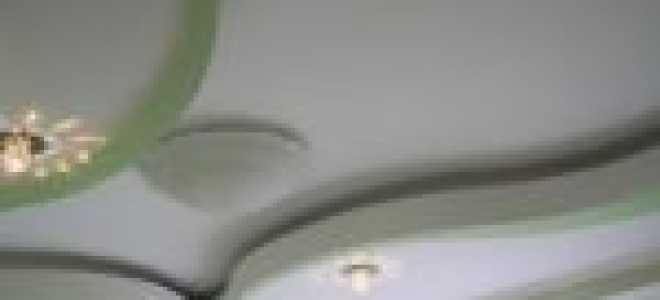 Потолок из гипсокартона (130 фото): дизайн подвесных гипсокартонных потолочных покрытий