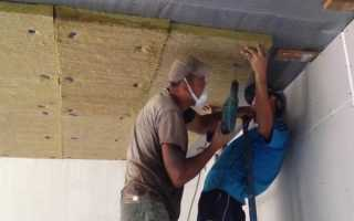 Утепление гаража: как утеплить изнутри своими руками и сделать теплым потолок
