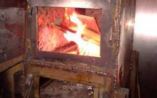 Печь для гаража (59 фото): как сделать печку своими руками