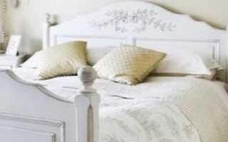 Кровати в стиле «прованс» (68 фото): цвет и декор, обзор производителей