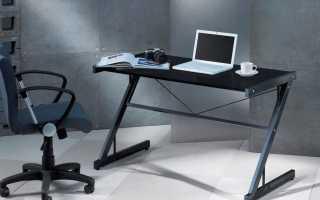 Металлические компьютерные столы (35 фото): модели на металлокаркасе для компьютера на колесах
