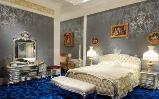 Спальни из Китая (68 фото): элитные китайские гарнитуры «Афина» и «Донателла», «Жасмин» и «Аврора»