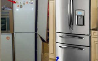 Холодильник, встроенный в шкаф (63 фото): как спрятать обычный холодильник в шкаф-купе на кухне