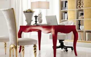 Классический письменный стол: дизайн моделей в стиле «классика» из Италии для дома