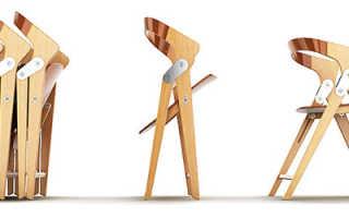 Складные деревянные стулья: преимущества и недостатки