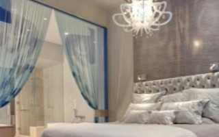 Освещение в спальне (82 фото): светильники в интерьере с натяжными потолками