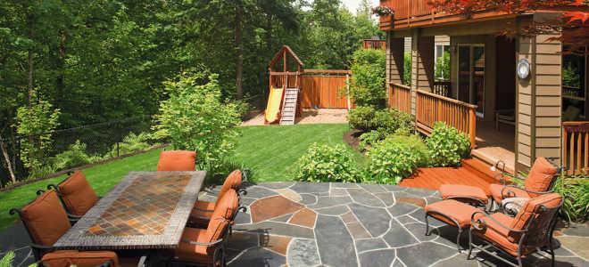 Ландшафтный дизайн участка площадью 5 соток ( 51 фото): оформление территории с домом