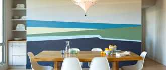 Покраска стен (81 фото): варианты и примеры окраски конструкций квартире