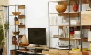 Стенки в гостиную с рабочим столом (23 фото): модели в зал письменным и компьютерным столом