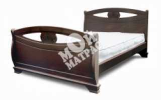 Деревянные двуспальные кровати (54 фото): модели массива дерева сосны или дуба