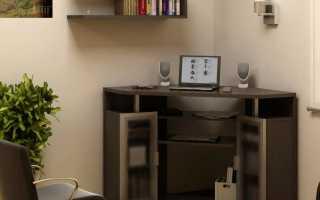 Угловые столы для ноутбука (15 фото): малогабаритный компьютерный столик с надстройкой