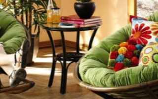 Кресло Papasan (50 фото): качалка из ротанга и подушка для нее, круглое кресло Ikea, отзывы