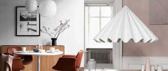 Светильники в различных стилях (83 фото): потолочные светильники в скандинавском и японском стилях