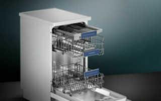 Встраиваемая посудомойка Siemens 45 см: глубиной 60 см и отзывы