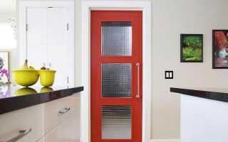 Дверь для кухни: рекомендации по выбору (40 фото): легкие складные кухонные модели со стеклом, нужна ли стеклянная дверь между гостиной и кухней