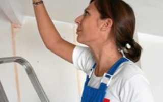 Водоэмульсионная краска на побелку: можно ли наносить водоэмульсионку, как красить меловую поверхность