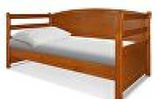 Детская кровать из массива (80 фото): деревянные кроватки из натурального дерева сосны для ребенка от 3 лет