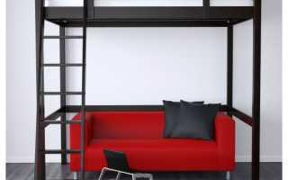 Кровать-чердак от Ikea (53 фото): модели с рабочей зоной внизу, оригинальные примеры в интерьере