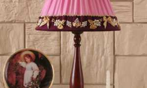 Настольные лампы с абажуром: как обновить зеленый абажур для спальни
