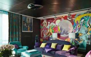 Молодежные обои (32 фото): красивый дизайн стен в комнату для молодежи