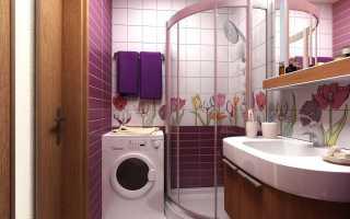 Кафель в ванной комнате: дизайн, фото, бюджетный вариант