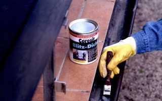 Краска по металлу для внутренних работ без запаха: быстросохнущие составы