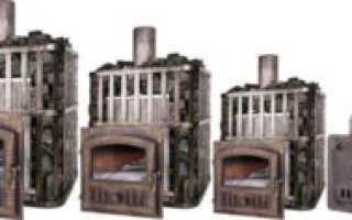 Печи для бани Gefest: чугунные дровяные устройства с закрытой каменкой для русской бани, модели в талькохлорите, отзывы