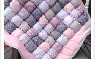 Одеяло в технике «бонбон» (44 фото): что это такое, происхождение детского одеяла