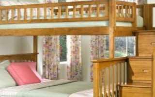 Двухъярусные кровати с ящиками: усиленные модели со ступеньками, лестницей и полками для хранения