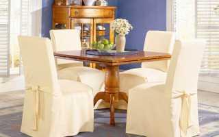 Чехлы для стульев на кухню (62 фото): кухонные чехлы своими руками