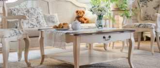 Журнальные столики: стильные столы в вариациях хай-тек и минимализм, барокко и модерн