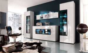 Современные модульные стенки в гостиную (51 фото): интересные варианты в интерьере