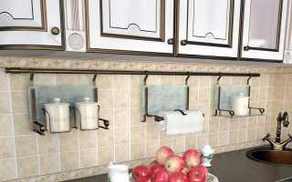 Рейлинг для кухни из бронзы: кухонный античный бронзовый рейлинг из Италии