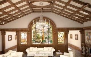 Высота потолков в частном доме: какой должна быть оптимальная и какова стандартная высота потолков в кирпичном и каркасном домах