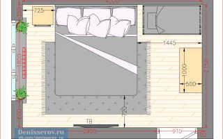 Дизайн cпальни 10-11 кв. м (137 фото): проект интерьера маленькой комнаты 11 метров, ремонт и планировка