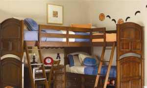 Кровать для троих детей (37 фото): детская кровать для 3 детей в одной комнате