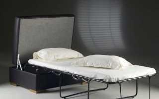 Пуф-кровать: большой пуфик, который раскладывается