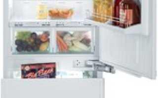 Встраиваемый холодильник: встроенные модели с системой No Frost