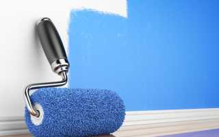 Расход водоэмульсионной краски на 1 м2: расчет количества при покраске в два слоя, норма расхода состава для внутренних работ