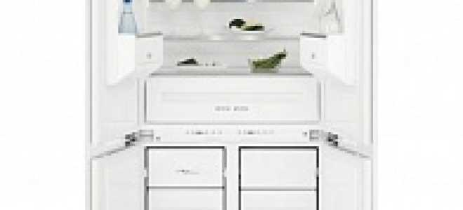 Встраиваемый холодильник Side by Side: встроенные модели