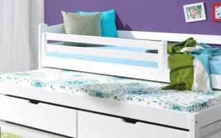 Кровать для двоих детей выдвижная (112 фото): детская раздвижная или выкатная модель с ящиками