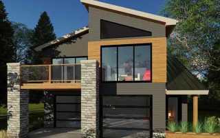 Гараж с мансардой (78 фото): красивый проект гаража на 2 машины с мастерской и баней