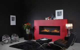 Камин электрический с эффектом 3D-пламени (50 фото): настенная встраиваемая модель с паром